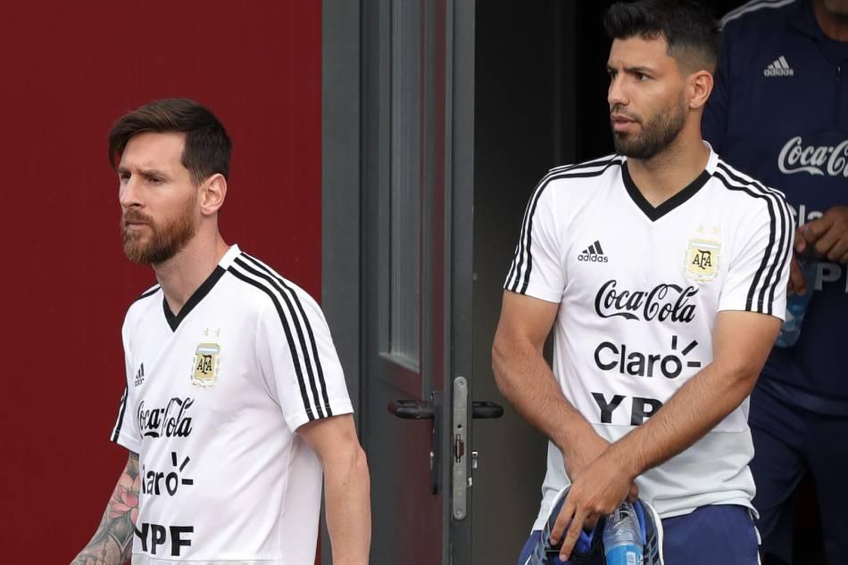 Sergio Aguero Joins Lionel Messi At Barcelona Toysmatrix