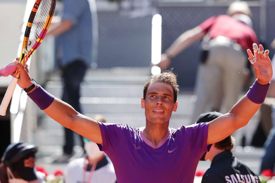 Nadal Starts With A Bang In Madrid As Casillas And Raul Watch On