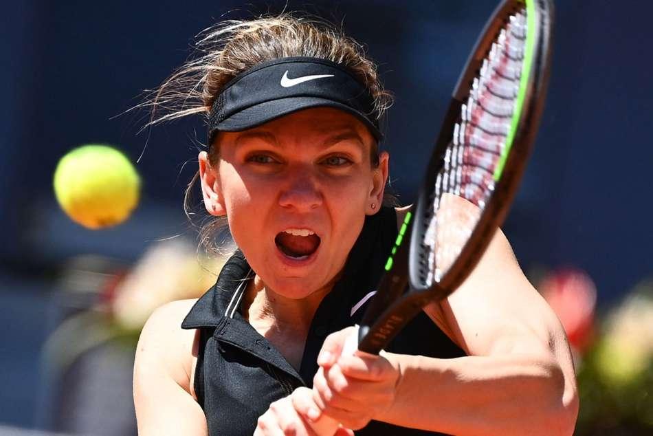 Simona Halep Halted By Elise Mertens In Madrid Open Epic