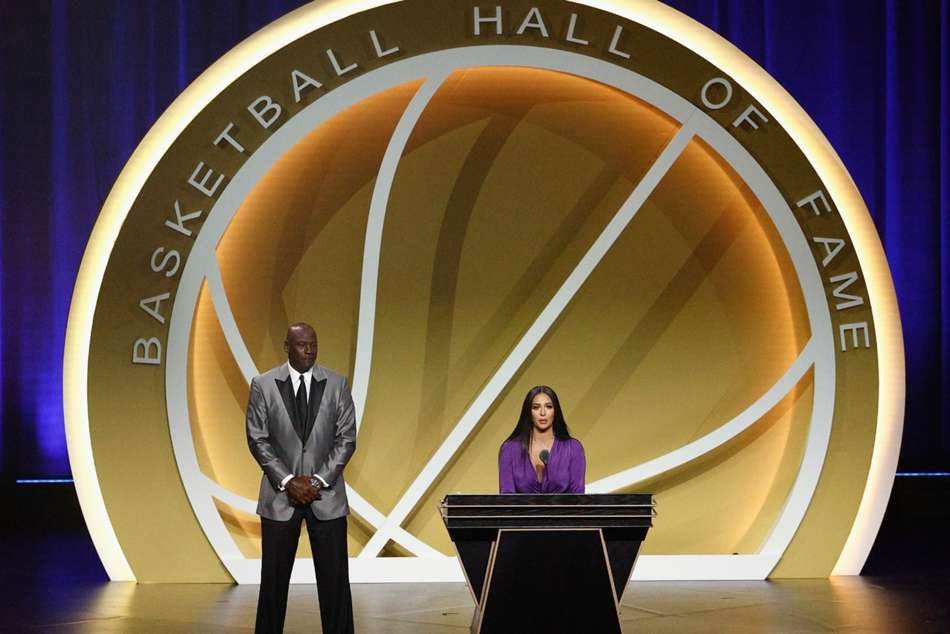 Kobe Bryant Wife Vanessa Basketball Hall Of Fame Speech