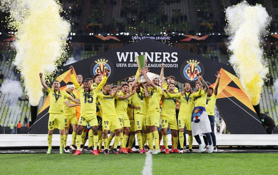 Europa League Final 2021: Villarreal vs Manchester United ...