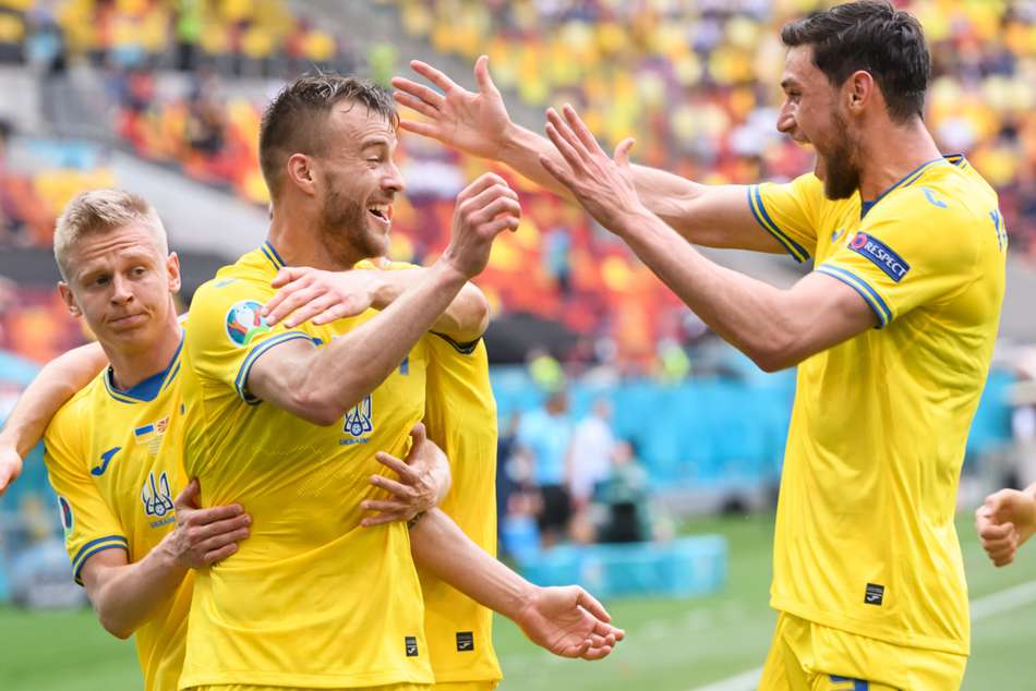 Euro 2020: Ukraine 2-1 North Macedonia: Yarmolenko inspires important Group C win