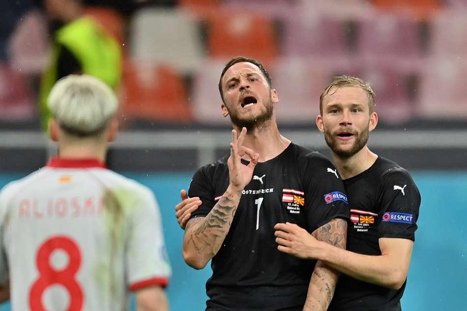 Arnautovic Banned Austria North Macedonia Euro 2020 Insulting Behaviour