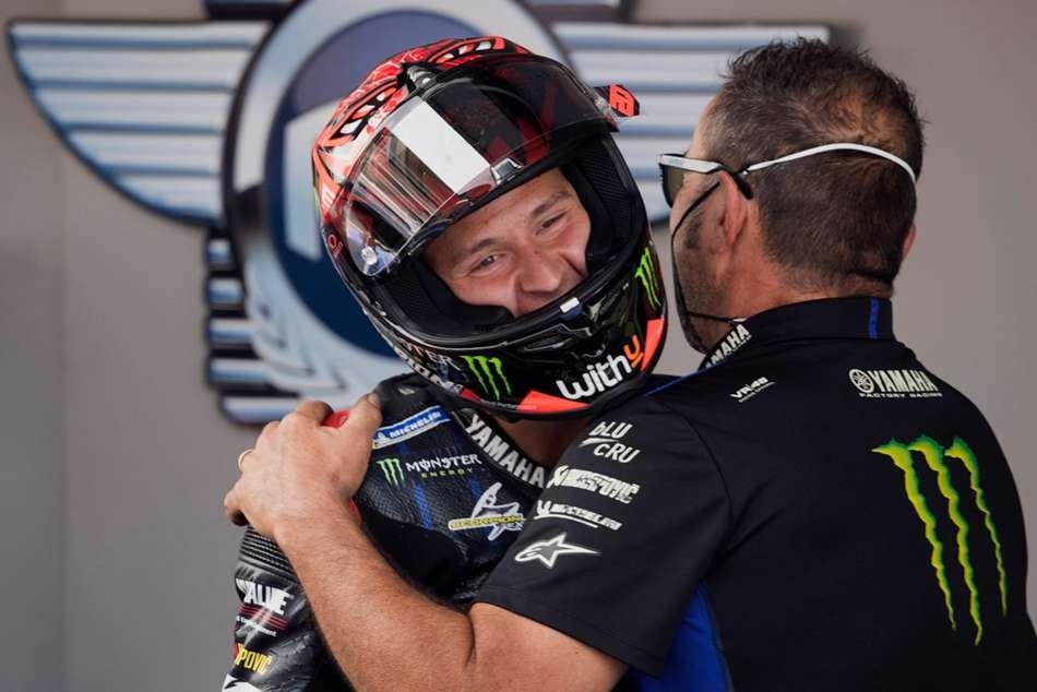 Motogp 2021 Fabio Quartararo Revelling Qualifying Feats After Latest Pole In Catalunya