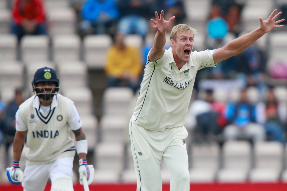 WTC Final, New Zealand vs India Day 3: Kyle Jamieson's fifer restricts India to below-par 217 in first innings