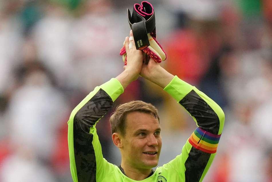 Euro 2020 Uefa Abandon Investigation Into Neuer S Rainbow Armband