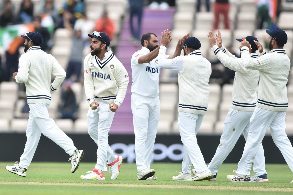 WTC Final Day 5, tea break: Mohammed Shami grabs a four-for as India restrict New Zealand to 249