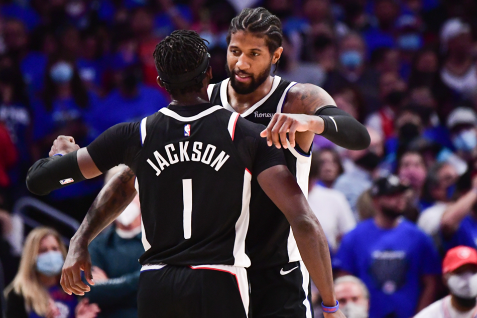 Nba Playoffs 2021 Clippers Overcome 25 Point Deficit To Knock Out Jazz 76ers Force Game 7