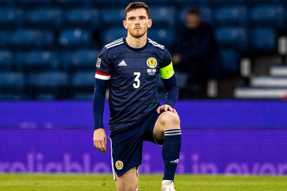 Scotland To Take The Knee Against England Euros Steve Clarke Andy Robertson