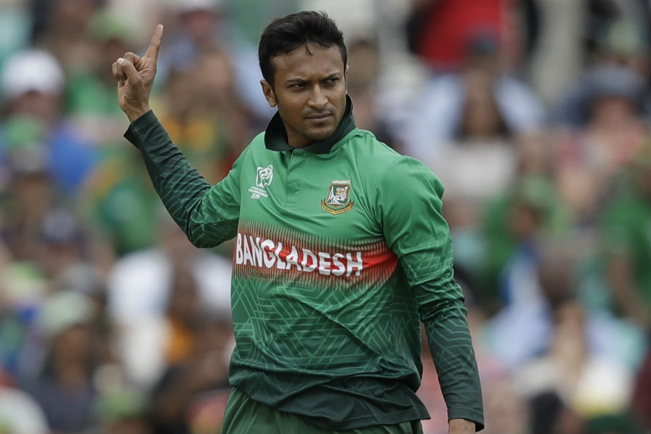 Shakib Al Hasan Handed Four Match Ban