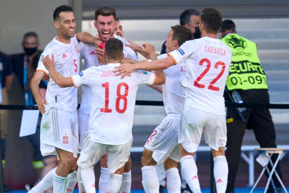 Euro 2020: Slovakia 0-5 Spain: La Roja rampant after Dubravka howler to reach last 16