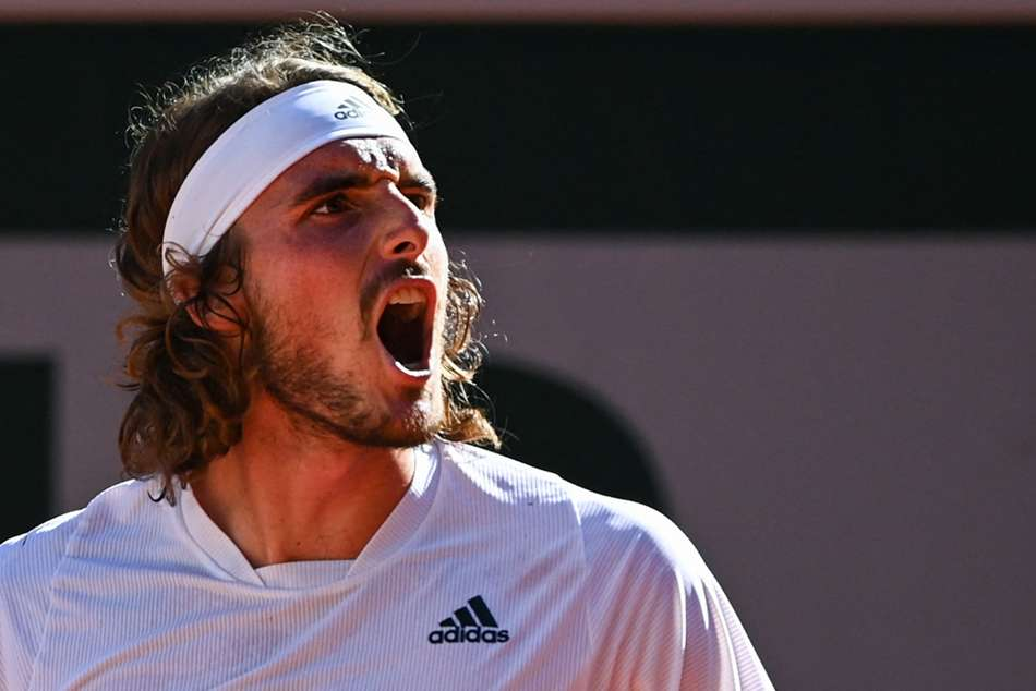 Tsitsipas makes history for Greece with epic semi-final win over Zverev