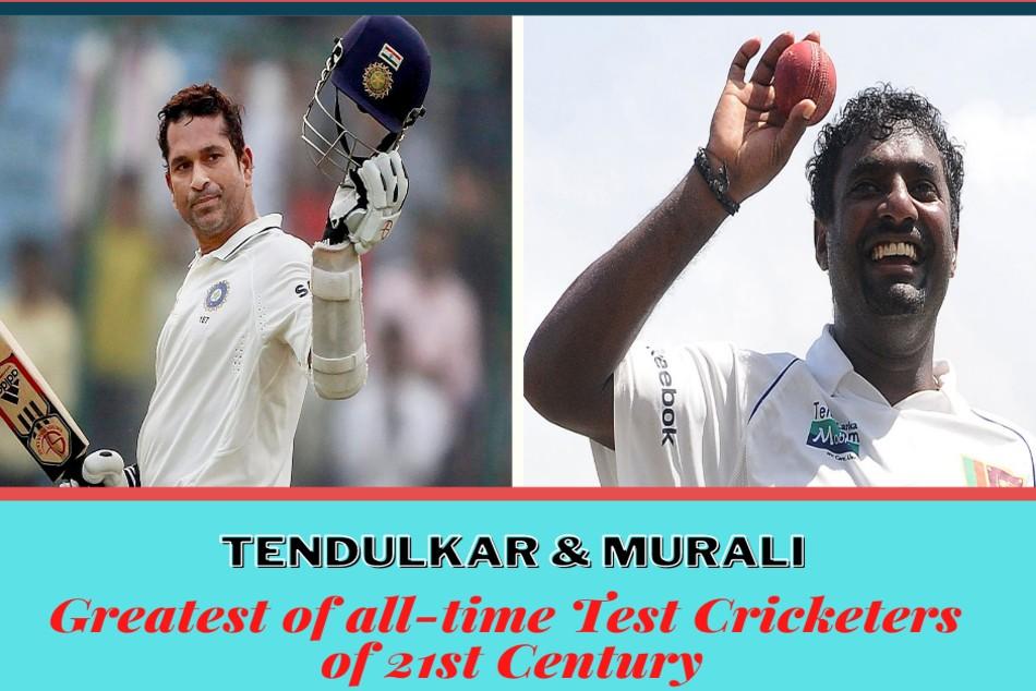 Greatest Of All Time Test Cricketers Of 21st Century Sachin Tendulkar Muttiah Muralitharan Win