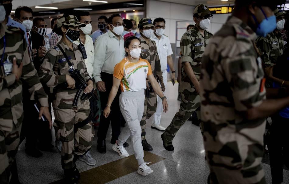 Mirabai Chanu recalls lockdown woes