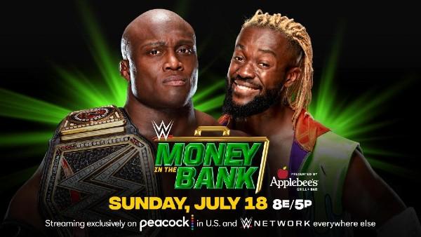 WWE Champion Bobby Lashley vs. Kofi Kingston