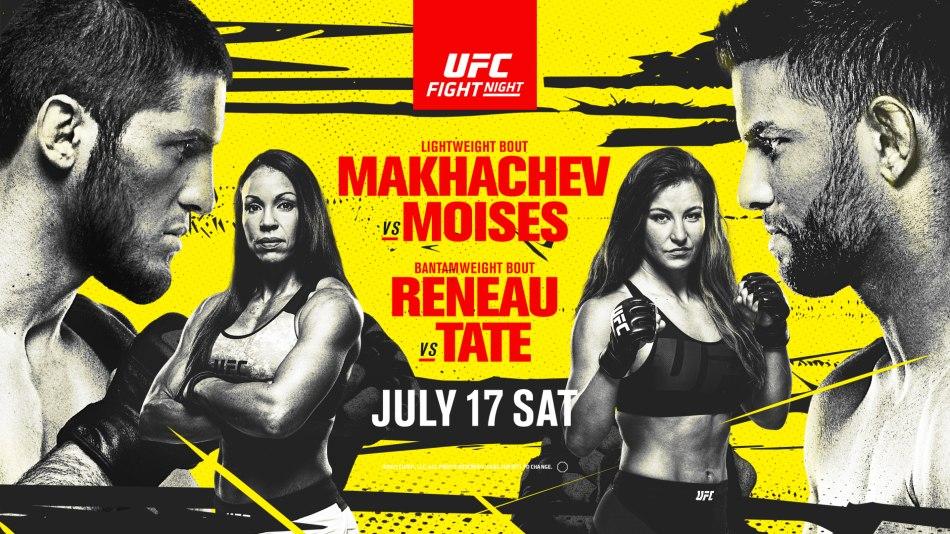 Watch UFC Fight Night: Makhachev vs. Moises 7/17/21