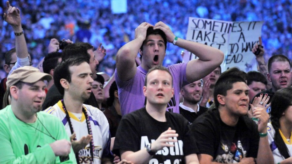 WWE thrilled to welcome back fans, thank all involved for support over the year
