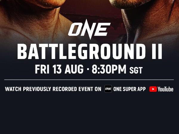 Siaran TV ONE Battleground II dan streaming informasi