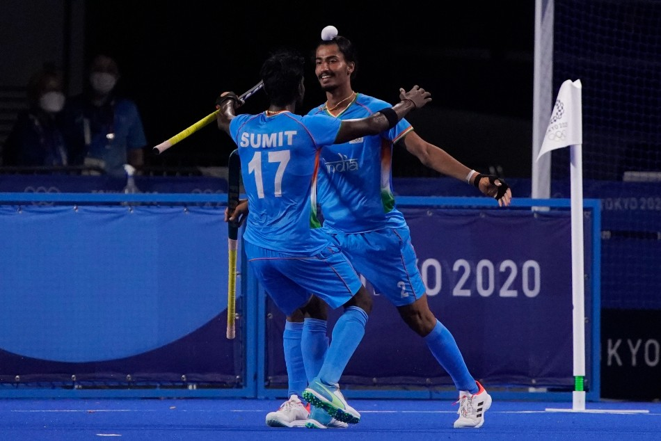 Tokyo 2020: Men's Hockey: India down Great Britain 3-1 to set up a semifinal clash with Belgium