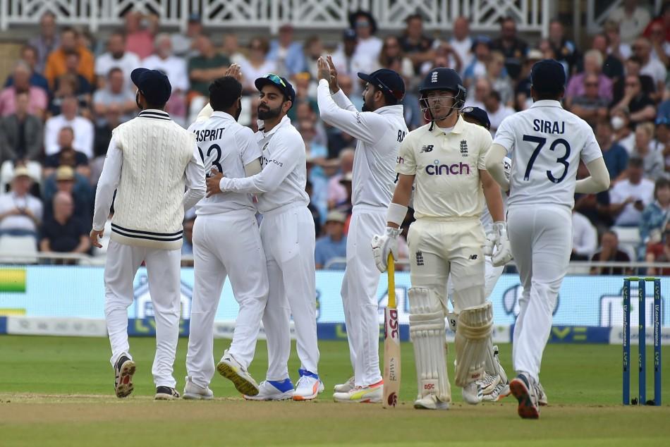 India vs England, 1st Test Day 5: Persistent rain washes away morning  session at Trent Bridge - myKhel