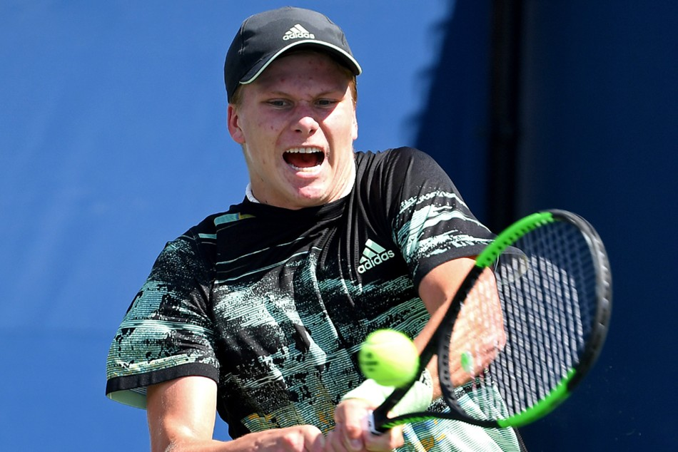 Wildcard Brooksby Topples Anderson Former Champion Nishikori Wins At Citi Open