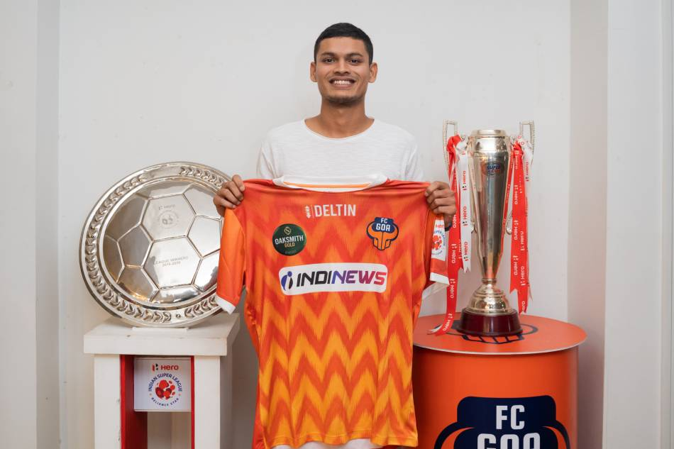 Reloj de transferencia ISL: FC Goa Signature Kunal Kundaikar