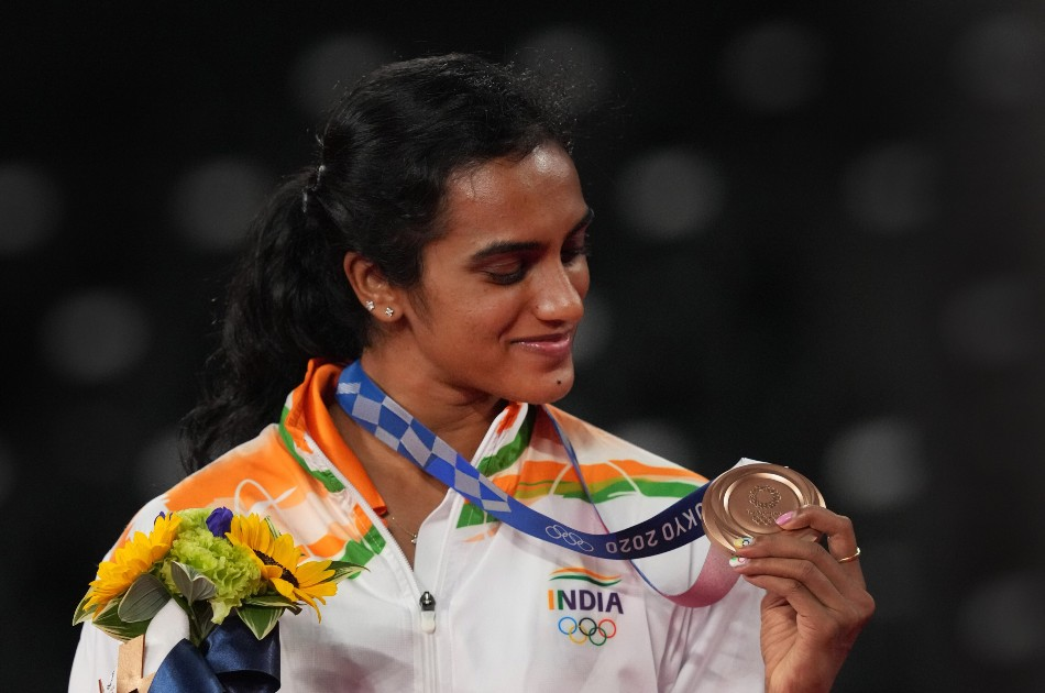 Was Blank For Few Seconds Didnt Know What To Do Pv Sindhu On Second Olympic Medal