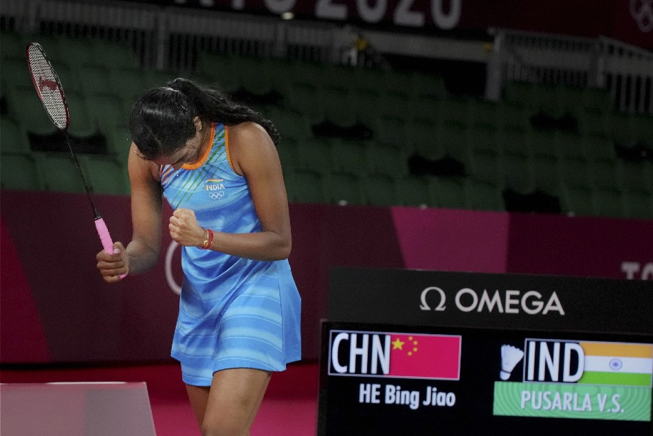 Tokyo 2020 Pv Sindhu Beats He Bing Jiao In Straight Sets To Clinch Bronze Her Second Olympic Medal