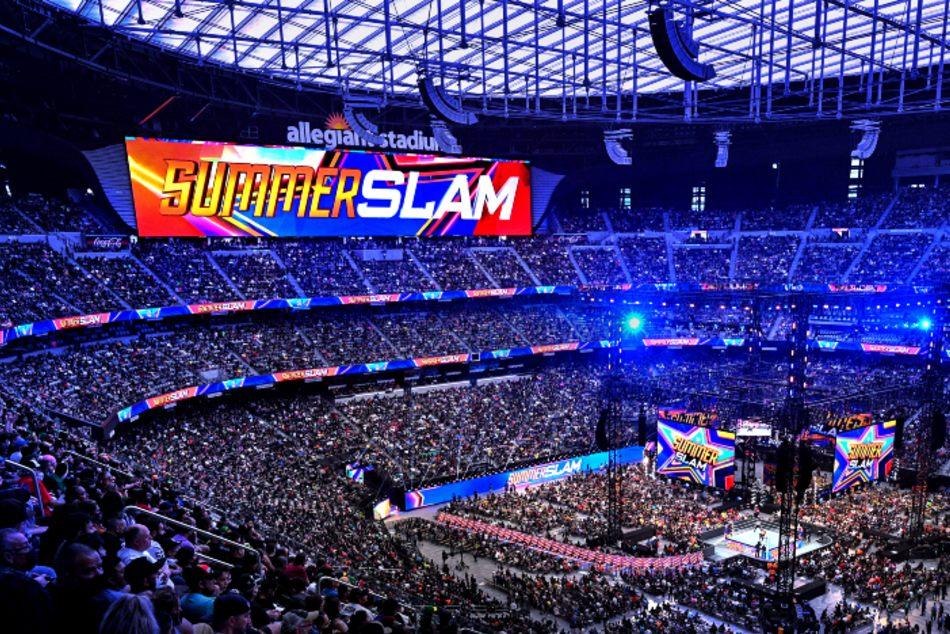 WWE SummerSlam 2021 indoor attendance record breaking venue to host Money in the Bank 2022