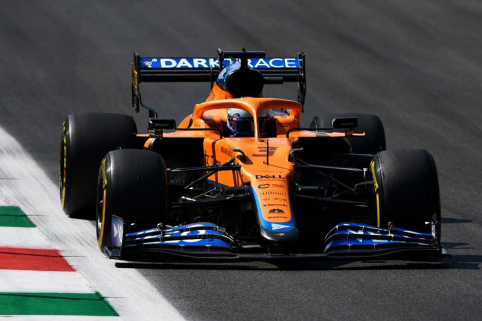 Ricciardo leads McLaren one-two after Verstappen and Hamilton collide at Monza