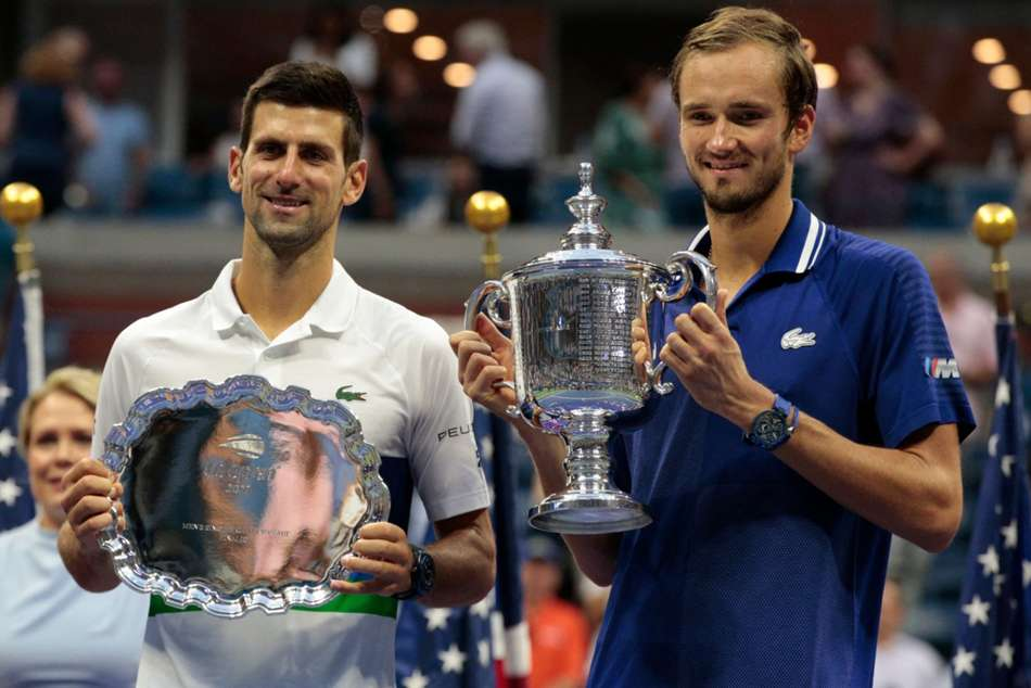 US Open 2021: Medvedev labels Djokovic 'greatest tennis player in history'