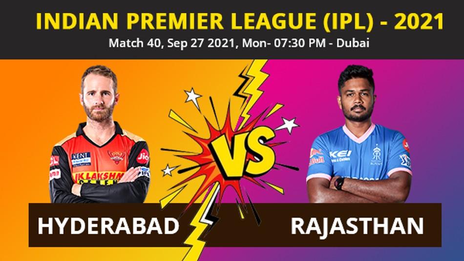 IPL 2021, SRH vs RR Match 40 Highlights: Williamson, Roy fifties power Sunrisers to 7-wicket win