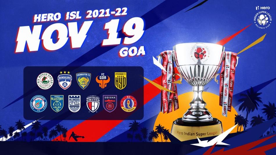 ISL 2021-22 Fixtures: Season 8 to kick off on November 19, Schedule announced till January 9