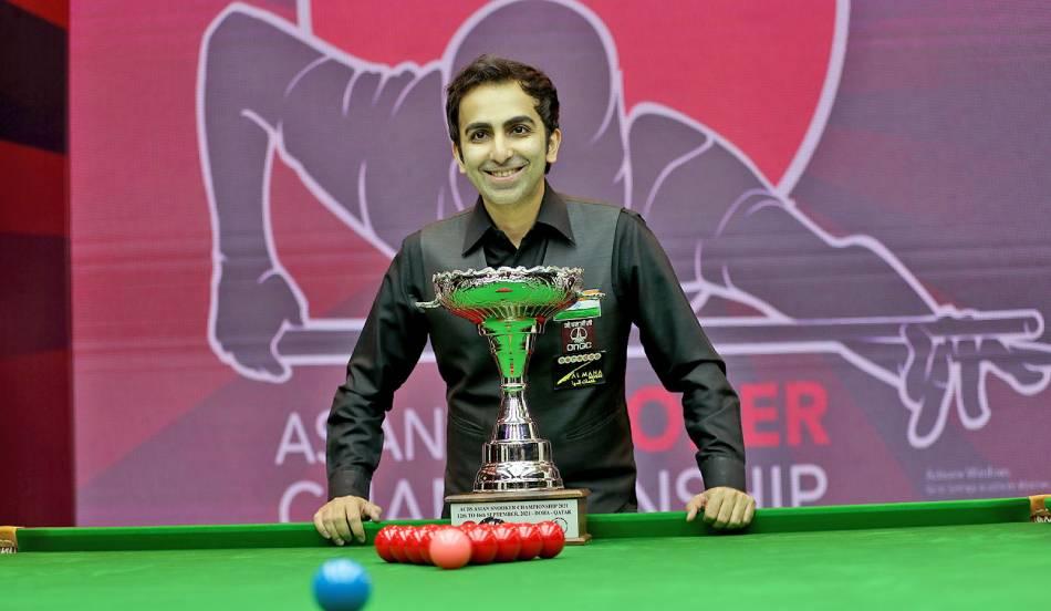 Pankaj Advani retains Asian snooker title