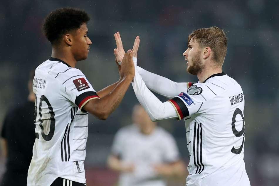 Werner brace helps secure World Cup spot for Die Mannschaft