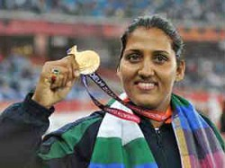 Cwg Gold Medallist Poonia Qualifies For London Olympics