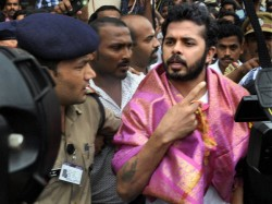 Sreesanth Arrives Home To Emotional Welcome