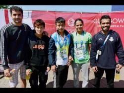 Cwg 2014 Impressive Show Indian Judokas
