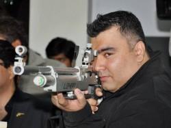 Gagan Narang Wins Silver In 5om Rifle Prone
