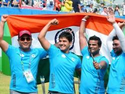 Indian Mens Compound Archery Team Strikes Gold