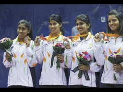 Indian Womens Squash Team Settles For Silver