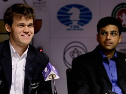 Anandto Play With White In The World Championship Opener