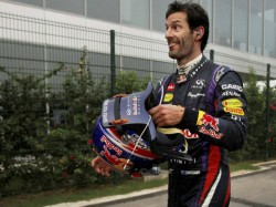 Mark Webber Suffers Horror Crash Brazil