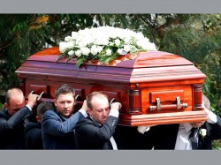 Channel Nine Tv Gives Sean Abbott Respect At Hughes Funeral Service