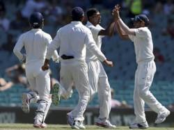 th Australia India Test Day 4 Report Sydney