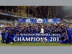 Mumbai Indians Win Ipl Ambanis Sachin Ponting Cricketers Celebrate Kolkata 1757172 Pg