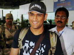 India Captain Ms Dhoni In A First Of Its Kind Visit To America