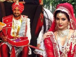 Harbhajan Singh Geeta Basra Marriage Photos Sachin Anjali Tendulkar 1912959 Pg