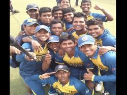 U 19 World Cup Sri Lanka Beat England Set Up Semis Clash With India