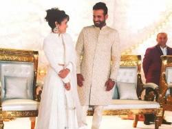 In Pics Irfan Pathan Safa Baig S Wedding Reception 2037118 Pg
